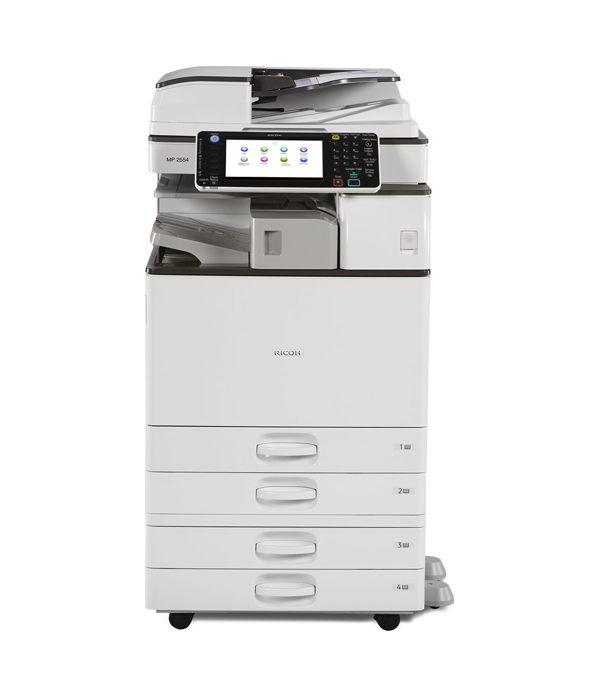 Ricoh Aficio Mp 3054 Copier Ricoh Copiers Chicago