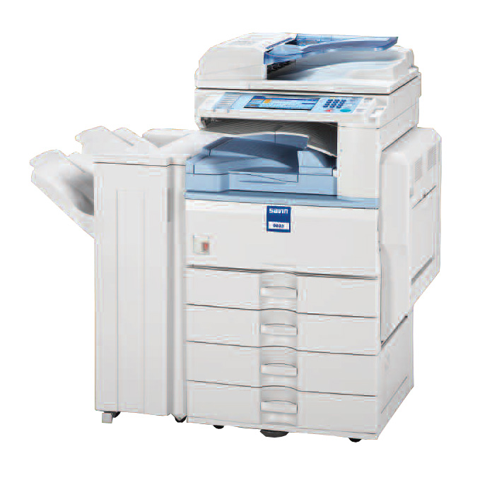 Savin 9033b/sp/spf savin copiers chicago black and white mfp.