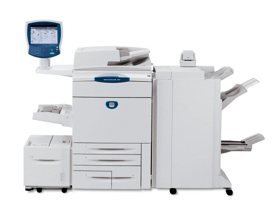 Xerox Docucolor Dc 260 Xerox Copiers Chicago Color Mfp
