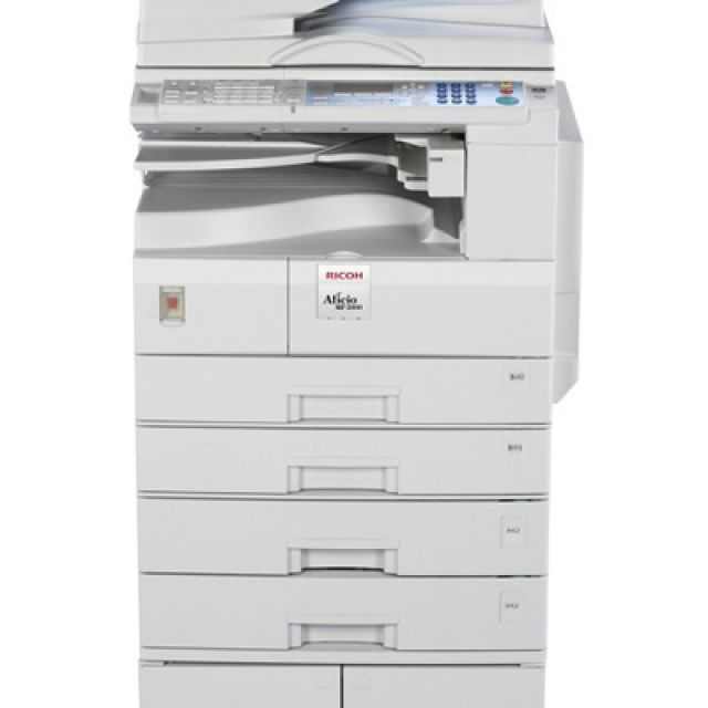 Ricoh Aficio MP 2000 Copier