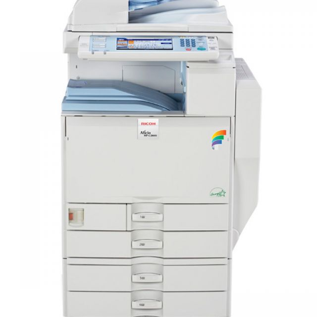 Ricoh Aficio MP C2800 Copier
