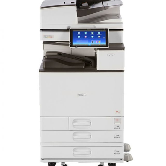 Ricoh Aficio MP C3504 Copier